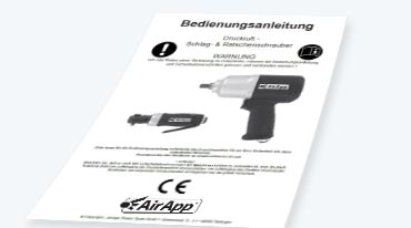 AirApp Power Tools Bedienungsanleitungen